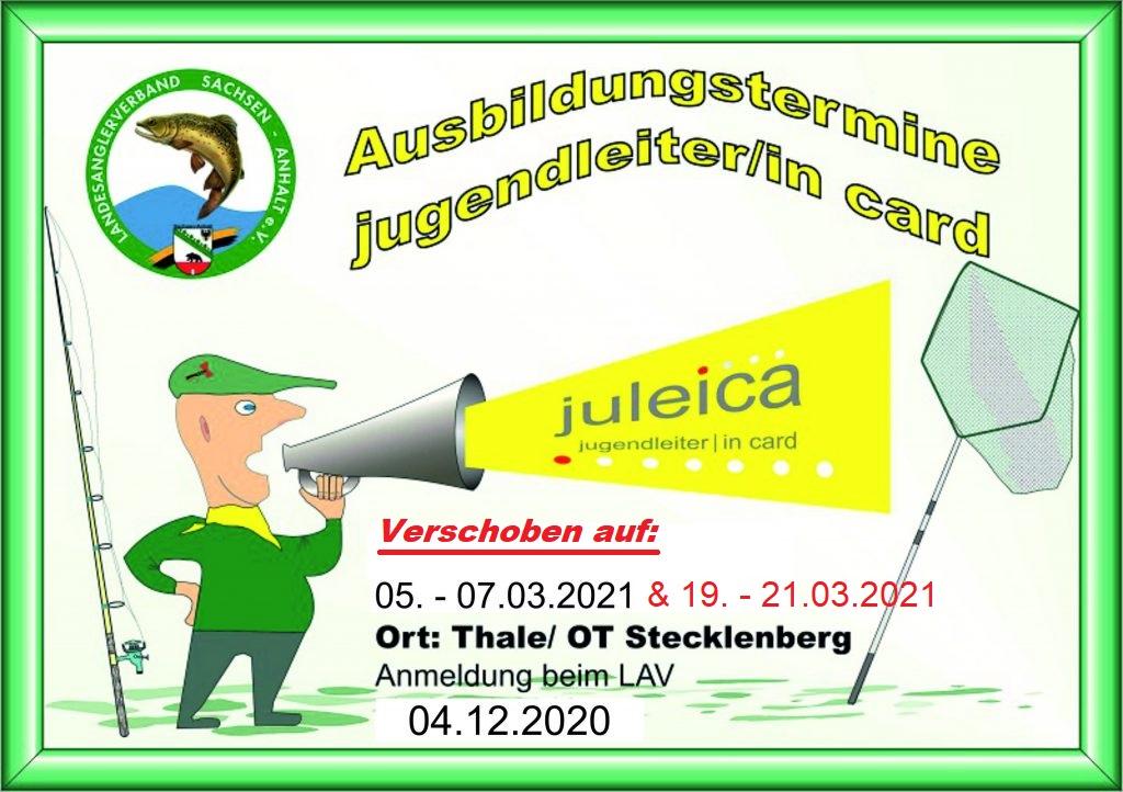 [NEWS] Juleica – Ausbildungstermine für 2021 Verschoben!!!